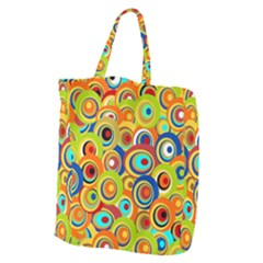 Zappwaits New York Giant Grocery Tote