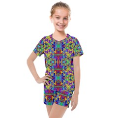 Ml 84 Kids  Mesh Tee And Shorts Set by ArtworkByPatrick
