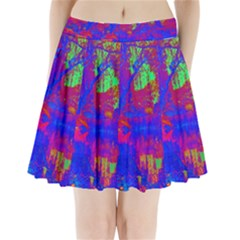 Atomic Garden Pleated Mini Skirt