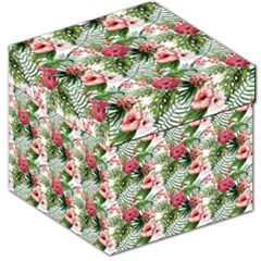 Tropical Flowers Storage Stool 12   by goljakoff