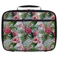Tropical Flowers Full Print Lunch Bag by goljakoff