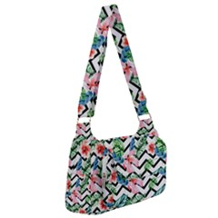 Geometric Flowers Pattern Post Office Delivery Bag by goljakoff