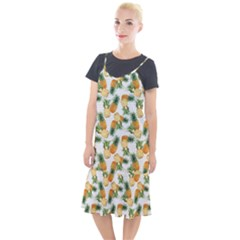Pineapples Pattern Camis Fishtail Dress by goljakoff
