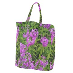 Stratford Garden Phlox Giant Grocery Tote by Riverwoman