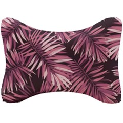 Rose Tropical Leaves Seat Head Rest Cushion