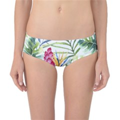 Tropical Leaves And Flowers Classic Bikini Bottoms by goljakoff