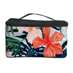Tropical Flowers Cosmetic Storage by goljakoff