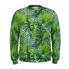 Green Tropics Men s Sweatshirt by goljakoff