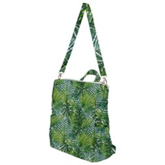 Green Tropics Crossbody Backpack by goljakoff
