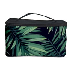 Green Tropical Flora Cosmetic Storage by goljakoff