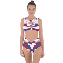 Naval Jack Of Royal Dutch Navy Bandaged Up Bikini Set  by abbeyz71