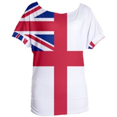 White Ensign Of Royal Navy Women s Oversized Tee by abbeyz71