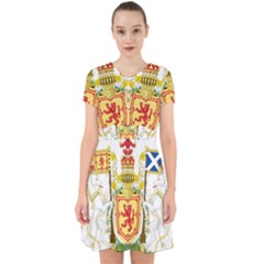Royal Coat Of Arms Of Kingdom Of Scotland, 1603-1707 Adorable In Chiffon Dress by abbeyz71