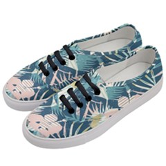 Minimalistic Flowers Women s Classic Low Top Sneakers by goljakoff