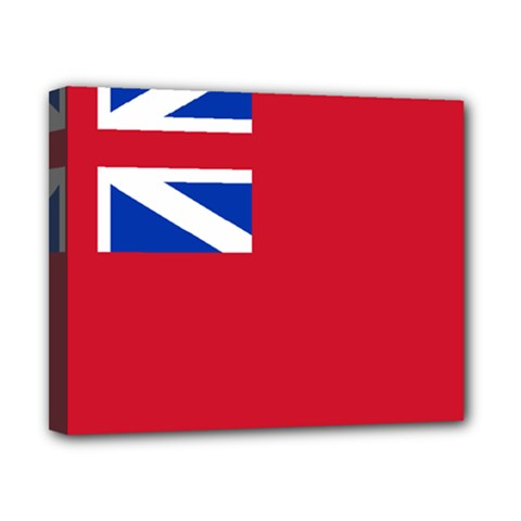 British Red Ensign, 1707–1801 Canvas 10  X 8  (stretched) by abbeyz71
