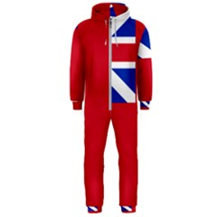 British Red Ensign, 1707–1801 Hooded Jumpsuit (men)  by abbeyz71