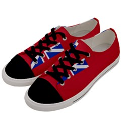 British Red Ensign, 1707–1801 Men s Low Top Canvas Sneakers by abbeyz71