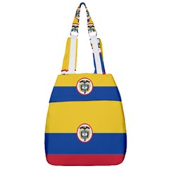 Coat Of Arms Of The Colombian Navy Center Zip Backpack