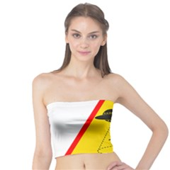 Sign Road Road Sign Traffic Tube Top by Wegoenart
