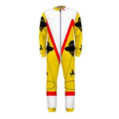 Sign Road Road Sign Traffic Onepiece Jumpsuit (kids)