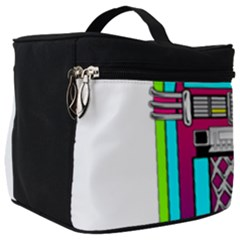 Jukebox Music Music Player Make Up Travel Bag (big)