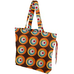 Zappwaits Hippie Drawstring Tote Bag