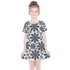 Black & White Kids  Simple Cotton Dress