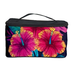 Neon Flowers Cosmetic Storage by goljakoff