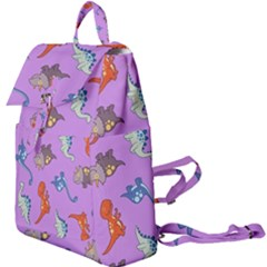 Dinosaurs   Violet Buckle Everyday Backpack by WensdaiAddamns