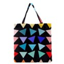 Zappwaits Triangles Grocery Tote Bag View1