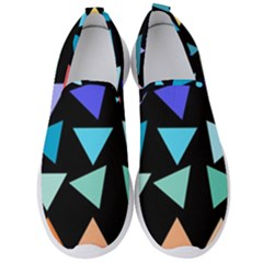 Zappwaits Triangles Men s Slip On Sneakers by zappwaits