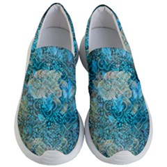 Background Scrapbooking Paper Women s Lightweight Slip Ons by AnjaniArt