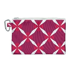 Christmas Background Wallpaper Canvas Cosmetic Bag (large)