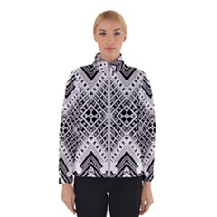 Pattern Tile Repeating Geometric Winter Jacket
