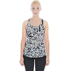 Flames Fire Pattern Digital Art Piece Up Tank Top
