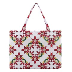 Christmas Wallpaper Background Medium Tote Bag