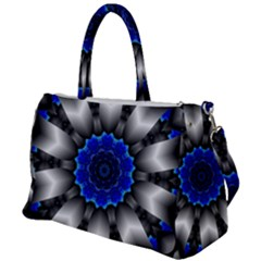 Kaleidoscope Abstract Round Duffel Travel Bag