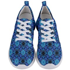 Blue Tile Wallpaper Texture Men s Lightweight Sports Shoes