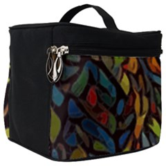 Stained Glass Window Glass Colorful Make Up Travel Bag (big)