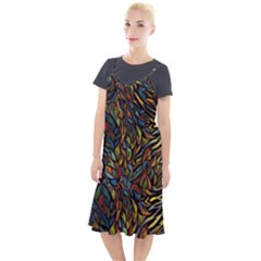 Stained Glass Window Glass Colorful Camis Fishtail Dress by Pakrebo