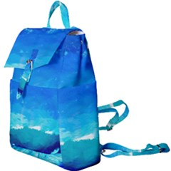 Blue Sky Artwork Drawing Painting Buckle Everyday Backpack