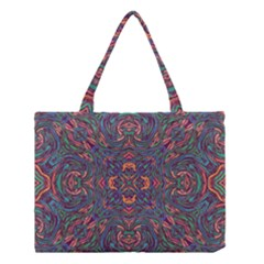 Tile Repeating Colors Texture Medium Tote Bag