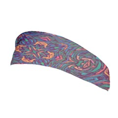 Tile Repeating Colors Texture Stretchable Headband