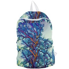 Tree Colorful Nature Landscape Foldable Lightweight Backpack