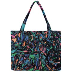 Tree Forest Abstract Forrest Mini Tote Bag