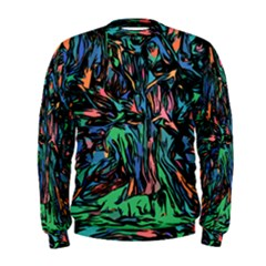 Tree Forest Abstract Forrest Men s Sweatshirt