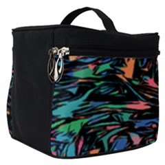 Tree Forest Abstract Forrest Make Up Travel Bag (small)