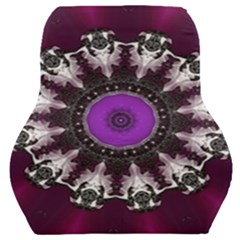 Kaleidoscope Round Circle Geometry Car Seat Back Cushion