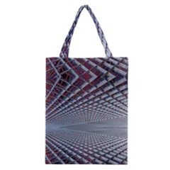 Metal Sci Fi Fantasy Background Classic Tote Bag