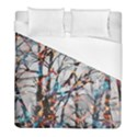 Forest Abstract Artwork Colorful Duvet Cover (Full/ Double Size) View1